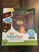 HappiTaps Huggable Smartphone iPhone or iPod Touch Bear App   CUTE & NEW!