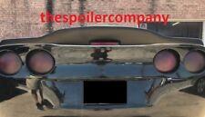 FOR CHEVROLET CORVETTE C6 Grey Primer DRIFTER-Style Rear Spoiler Wing 2005-2013