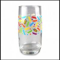 450 North Brewing Glass Confetti 90's Style Craft Pint Thick Bottom Official New