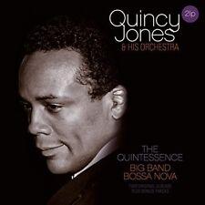 Quincy Jones & Orchestra Quintessence Big Band Bossa Nova and 2pc Vinyl LP