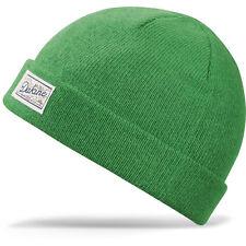 2016 NWT MENS DAKINE ROSCOE BEANIE $20 turf green patch acrylic flat knit