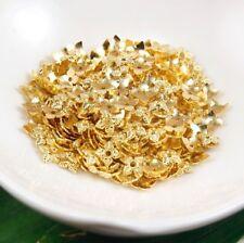 Lot of 100 Tibetan Style Golden 6mm Bead Caps Gold Flower Loose Beads Bulk US
