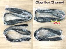 Glass Run Channel Weatherstrip Seal Set For 2006-2009 Honda Civic Sedan FD FA FG
