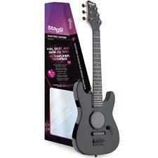 Stagg GAMP 200-bk Junior E-Guitare avec haut Amp