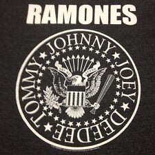 Ramones Black T-shirt Punk Rock NYC 80's