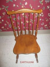 Tell City Sewing Rocker Small Rocking Chair Hard Rock Maple Andover 48 Finish