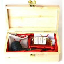 COFANETTO REGALO PIPA VOLKAN  GIFT BOX SMOKING PIPE VOLKAN GRAPPA ANTIQUA