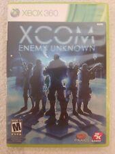 XCOM: Enemy Unknown (Microsoft Xbox 360, 2012) GAME COMPLETE with MANUAL  CIB