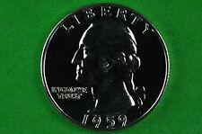 1959  Brilliant  Washington SILVER GEM  Proof  US Quarter 90% SILVER