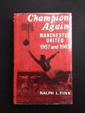 CHAMPIONS AGAIN MANCHESTER UNITED 1957 AND 1965 MEGA RARE FOOTBALL BOOK