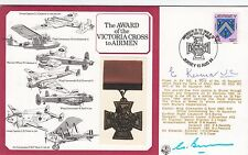 The  Award of the Victoria Cross to Airmen Signed by Edward Kenna + COA