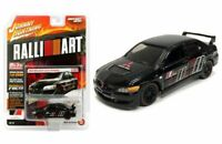 Johnny Lightning 1/64 RalliArt  2004 Mitsubishi Lancer Evolution Black JLCP7168