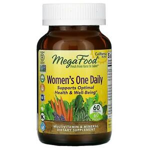 MegaFood, Women's One Daily, 60 Tablets