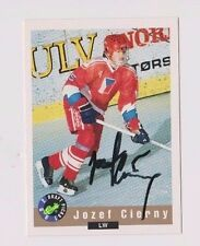 92/93 Classic Draft Jozef Cierny Team Czech Autographed Hockey Card