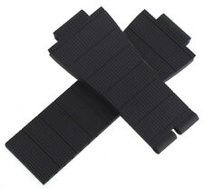 Patek Philippe 19x16mm Black Rubber Watch Band Strap A22