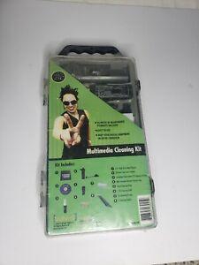 VuPoint Multimedia Cleaning Kit 35pc Set Floppy Disc & CD-ROM Laser Lens New