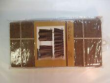 Park B. Smith Durham Square 36-Inch Kitchen Window Curtain Tier Pair in Woodland