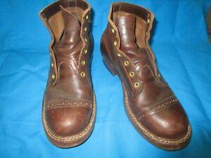 Whites Boots. Captoe Men's 9D