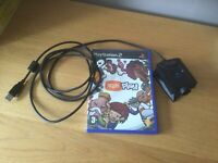 Eye Toy Camera + Game - Sony PS2 / Playstation 2 - Tested UK SELLER