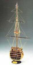 "Classic, Detailed Wooden Model Ship Kit by Corel: ""HMS Victory"" Cross-section"