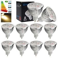 Lot of 10x 6W MR16 DC12V LED Bulbs 50W Spotlight Warm White Light Spot Bulb UK