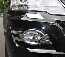 MERCEDES BENZ ML CLASS 4 DOOR SUV W164 NEW CHROME FOG LIGHT TRIMS 2008 - 2011