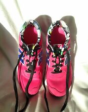 Super Retro Bright Pink NEW BALANCE 574 Womens Trainers UK Size 5.5