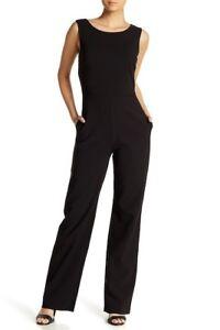 NWT Lotus Threads Black Cutout Black Jumpsuit - Size 12 Orig $440
