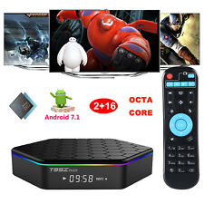 2017 NEW Android 7.1 Nougat 2+16GB DDR4 T95Z Plus S912 Octa Core 4K Smart TV BOX