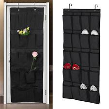 20 Pocket Over the Door Shoe Organizer Rack Hanging Storage Space Saver Hanger