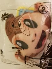 PLUSH MONKEY Sony Pictures movie #2 McDonalds Happy Meal toy NEW