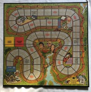 Vintage Ideal 1981 Dukes of Hazzard Game Board Only Part Replacement Piece