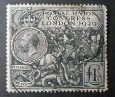 Great Britain PUC £1 nice, one corner slightly blunt, 1929 - Ref JC1
