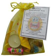 Stress Survival kit gift - funny secret santa, stocking filling, work gift,