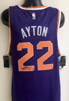 DeAndre Ayton Phoenix Suns Autographed Signed Nike Swingman Jersey Steiner COA