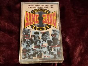 NEW We're All In The Same Gang WEST COAST Cassette NWA HAMMER JJ ICE-T SEALED