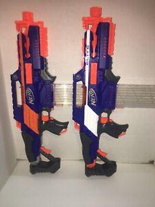 2 Nerf N-Strike Elite Rapidstrike CS-18 Dart Blasters