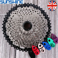 SUNSHINE 8/9/10/11S MTB Bike Cassette11-40/42/46/50T Cogs Chain Fit Shimano/SRAM
