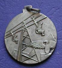 """MEDAGLIA A.N.A. SEZIONE PINEROLO PRALY 1960 3° REGGIMENTO ALPINI - ARGENTO """"800"""""""
