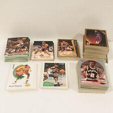 Lot of NBA Basketball Cards 1990's , All Stars, Rookies, Starters, Hoops, Fleer