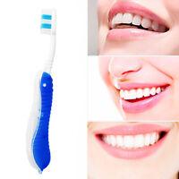 2stk Hygiene Oral Einweg Faltbar Reise Camping Zahnbürste Reinigung Werkzeu Q8N1