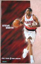 STEVE SMITH 2000-1 Blazers POSTER Game Handout Portland Trailblazers