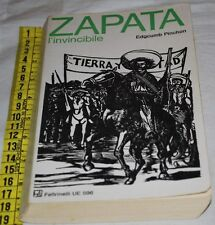 PINCHON Edgcumb - ZAPATA L'INVICIBILE - UE Feltrinelli - libri usati