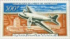 MAURITANIA MAURETANIEN 1963 201 C19 Flugzeug Plane Nouakchott Airport MNH