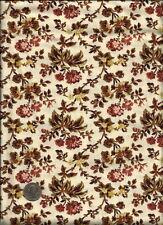 """Rosetree Cottage"" Print on lt ecru or drk cream Fabric by Studio E Fabrics"