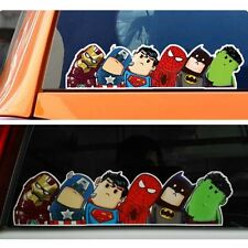10pc The Avengers Car Truck Auto Window Windshield Sticker DIY Film Wrap Decals