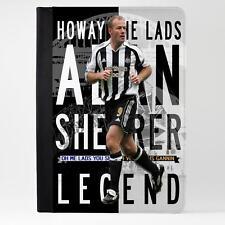 Rozadora Newcastle iPad Funda piel cubierta de la tableta de fútbol Legend Regalo LG08
