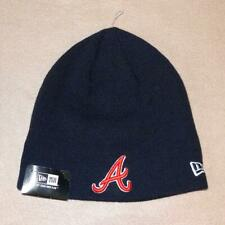 New Era Atlanta Braves Team Knit Basic Scull Beanie Hat - NWT!