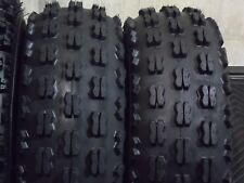 SUZUKI QUADRUNNER LT300 NEW (2 TIRE SET) 21x8-9 QUADKING ATV TIRES FREE SHIPPING