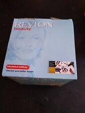 NIB Revlon Beauty Moisture Stay Facial Paraffin Bath Model RVS1207